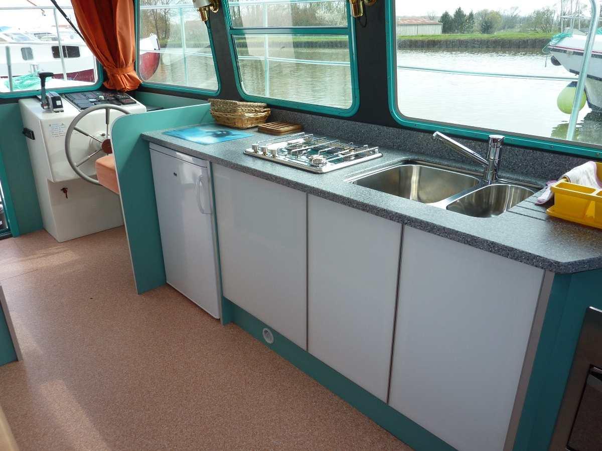 Unsere House-Boats VETUS 1200 | Navig\'France